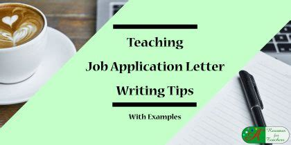 Cover letter sample for trainer position